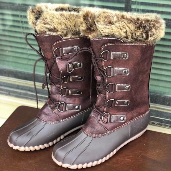 004a250af594f Yuu Fiona Midcalf Brown Boots. M 5bee04416a0bb71332b004f9